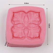 Flower Silicone Soap Molds Cake Decoration Mold Cake Mold Manual Soap Mould AY008