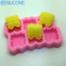 Wedding Silicone Mold Chinese Double Happiness Decorative Mold AO002