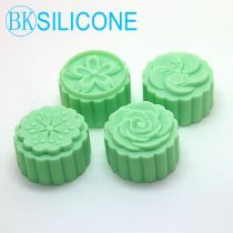 Four Flowers Silicone Soap Mold Craft Molds DIY Handmade Moon Cake Molds