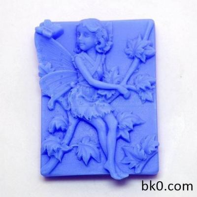 Beautiful Faery Soap Silicone Mold Chocolate Cake Molds AD005