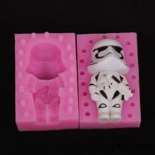 Spaceman 3D Silicone Soap Molds Chocolate Cookie Mould Cake Decorating Tools BKSILICONE WA022