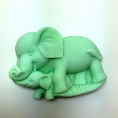 Elephant Soap Mold Craft Molds Silicone Moulds AM016
