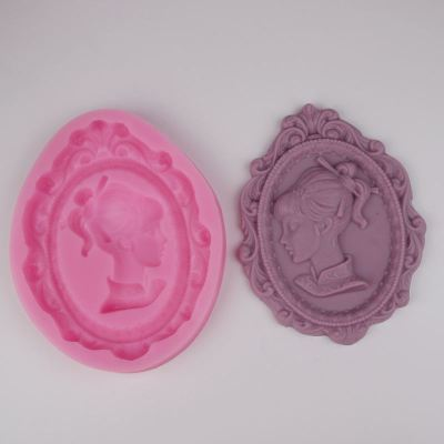 BG003 Photo frame design silicone mold Soap Molds,Resin Clay Candy Silicone Cake Mould,Fondant Cake Decorating Tools
