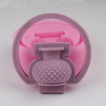 BG012 3D Vase silicone Mold Cake Decorating Mold Soap Mould Silicone Baking Tools