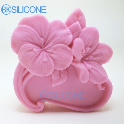 Flower Silicone Soap Mold Cake Molds Silicone Baking Supplies AO025