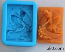 Sailboat Angel Silicone Mold Cake Soap Equipment AD003