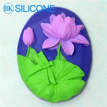 Lotus Soap Molds Flowers Silicone Mold Cake Decorating Tools AH019