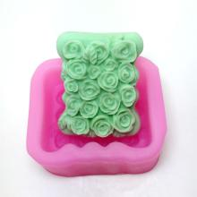 Rose Silicone Mold Soap Mould Cake Molds AM005