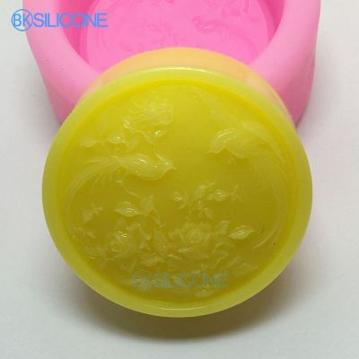 Silicone Molds Craft Molds DIY Handmade Cake Molds Birds Flower AN024
