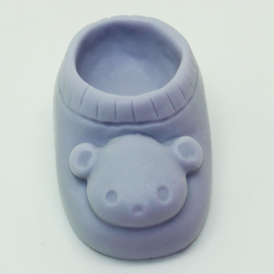 Bear Shoe Silicone Mold Fondant Cake Decorating DIY Clay Tool Soap Mold Factory Direct Sale AP015