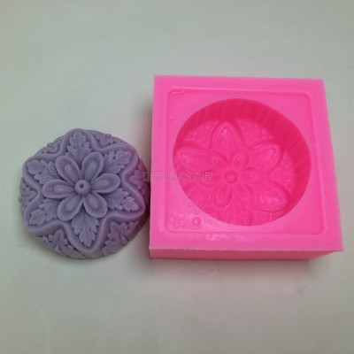 BN018 flower silicone molds Soap mold wholesale
