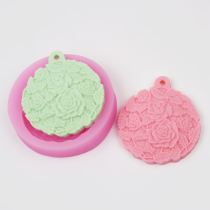 AZ017 Rose Leaf Shaped Silicone Mold Cake Decoration Fondant Cake 3D Silicone Mould