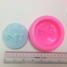 BL005 Flower Silicone Soap Molds Resin Clay Candle Mold Fondant Chocolate Sugarcraft Cake Decorating Tools