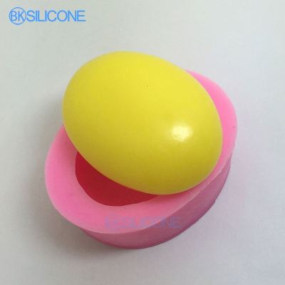 Easter Egg Shape Cake Mold Handmade Fondant Silicone Molds For Cake Decorating DIY AN016