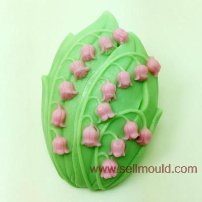 Flower Shaped Soap Mold Silicone Resin Clay Chocolate Candy Silicone Mould Fondant Cake Decorating Tools AT022