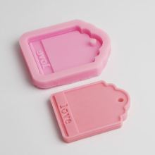 BE016 love Silicone Mold Soap Mold Cake Decorating Tools Clay Crafts Moulds wholesale