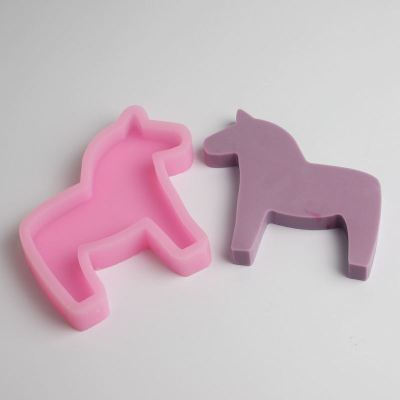 BD019 Horse Mould Fondant Cake Molds Silicone Mold Cupcake Mould Baking Tools Chocolate Mold