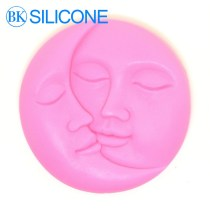 A Couple Kiss Moon And Sun Soap Mold Soap Mould Kitchen Baking AJ014