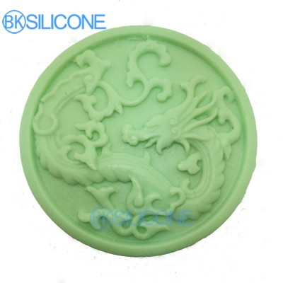 Dragon Silicone Molds Chinese Style Cake Mold Baking Tools For Cakes AO018