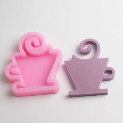 BD014 Creative Cup glass chocolate silicone mold cake decoration die silica silicone cake mold