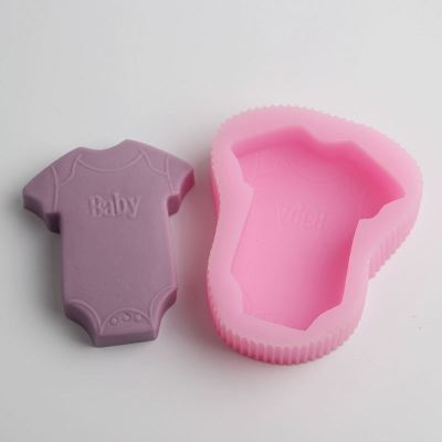 BD013 baby shirt Craft Art Silicone Soap mold Craft Molds DIY Handmade