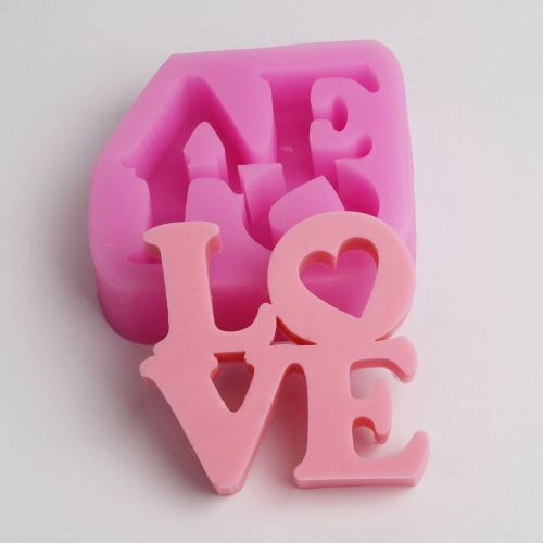 Wedding Accessories Wholesale | Bc001 Love Silicone Molds Wedding Decorations Fondant Molds Cake