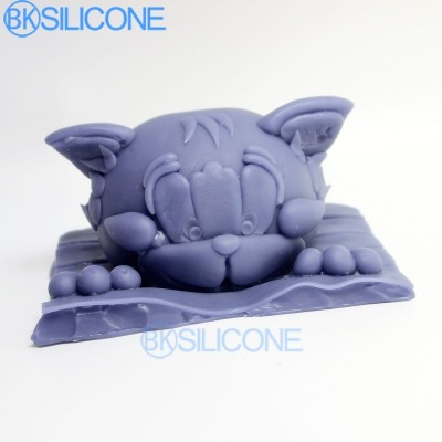 Cat Silicone Mold 3d Cake Decorating Candy Molds AO009