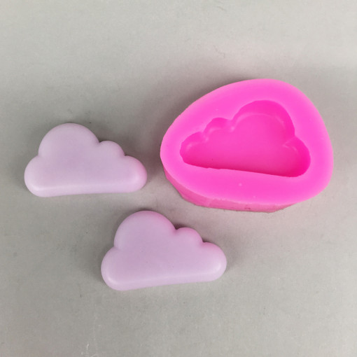 BK1093 Cloud Silicone Mold - Sugarcraft, Fondant, Cake Decorating Tools, Gum Paste, Jewelry DIY, Resin Polymer Clay Mold
