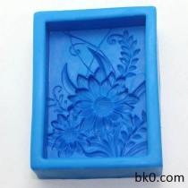 Flower Silicone Soap Molds Fondant Cake Chocolate Molds For The Kitchen Cake Decorating AB015
