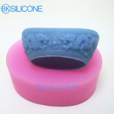 Chinese Style Moulds Cake Decorating Tools Silicone Mold 3d AO011