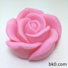 3D Rose Soap Silicone Mold Silica Gel Mould Silicon Candle Moulds Decorating Mould Wholesale AX020