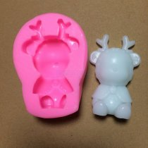 BM002 Bear Cake Bakeware Mold Silicone Mold DIY Chocolate Jelly Candy Pastry Decor Soap Mould