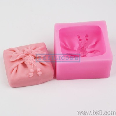 BH017 bow silicone soap molds Cake Decoration Mold Wedding Decoration cake mold