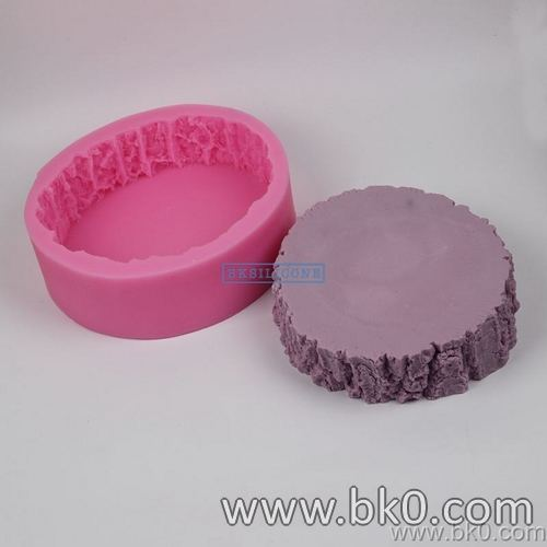 BJ001 3D Silicone Mold Big Tree Stump Mold Christmas Cake Decorating Fondant Silicone Mould Kitchen Accessories