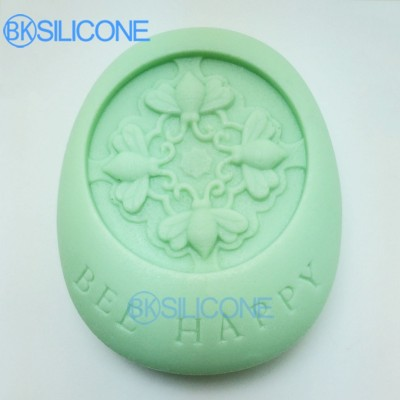 Soap Silicone Mold Bee Polymer Clay Cake Molds Kitchen Accessories AO021