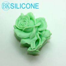 3D Rose Silicone Cake Mold Soap Molds Mould For Cake Decorating AM024