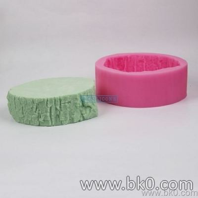 BJ002 3D Big Tree Stump Silicone Molds Christmas Fondant Cake Decorating Tools Chocolate Clay Candy Molds Kitchen Baking