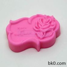 New Rose Silicone Soap Molds Cake Decoration Pasty Tools AD013