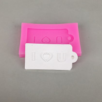 BK1084 I love U Silicone Mold Fondant Mould Cake Decorating Tools Chocolate Gumpaste Molds
