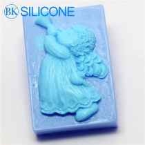 Blowing Suona Music Angel Craft Art Silicone Soap Mold Craft Molds Diy Handmade Soap Molds AI018