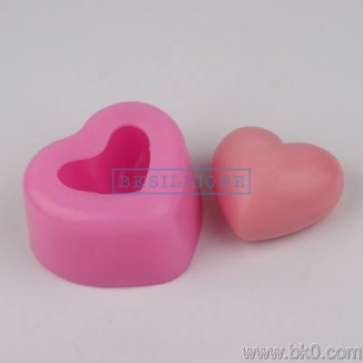 BH014 Heart Shaped Silicone Soap Molds Cake Decoration Mold Wedding Decoration Valentine'S Day gift