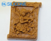 Angel Soap Silicon Molds Cake Decorating Baking Tools AF005