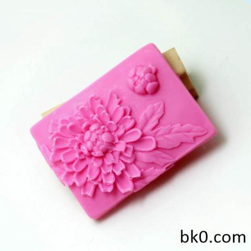 Sunflower Daisy Soap Mould Flexible Silicone Handmade Mold AK013