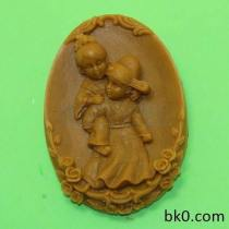 Chinese Lovers Wedding Cake Chocolate Mold Cookie Mold Soap Molds Candy Mould AC014