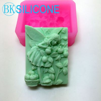 Angel Silicone Soap Mold Candle Mould Diy Carft Molds AD017
