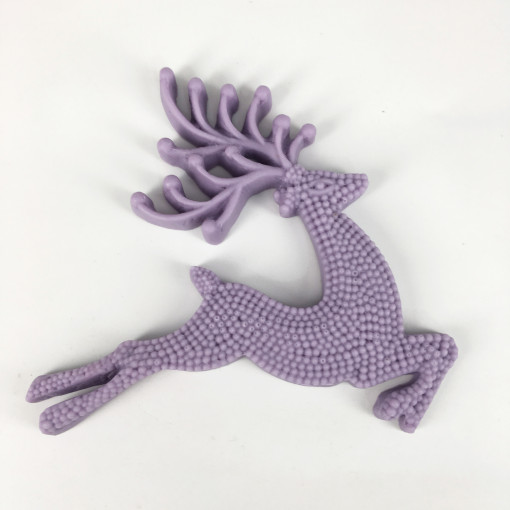 BK1074 3D Deer Shape silicone mold fondant mold cake decorating tools chocolate gumpaste mold