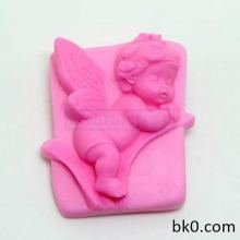 Sleep Baby Angel Silicone Soap Mold Cake Decoration Tools AD011