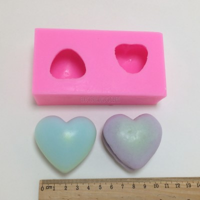 BM025 heart shaped Macarons silicone molds cake molds
