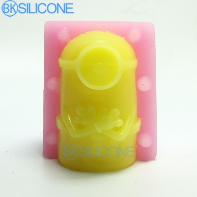 3D Man Silicone Mold New Arrival Design Man 3d Silicone Mold Chocolate Fondant Cake Decorating Tools AO005