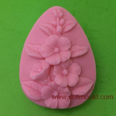 Flower Silicone Soap Mold Clay Mold Salt Carving Mould Molde De Silicone Wholesale AT002